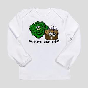 Lettuce Eat Cake - Long Sleeve Infant T-Shirt