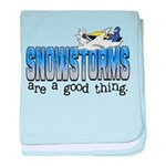 Snowstorms - Good Thing Infant Blanket