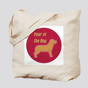 Chinese Year of the Dog Tote Bag
