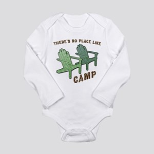 No Place Like Camp - Long Sleeve Infant Bodysuit
