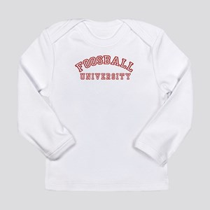 Foosball University Long Sleeve Infant T-Shirt