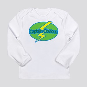 Captain Obvious - Long Sleeve Infant T-Shirt