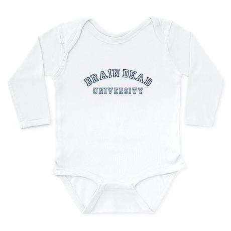 Brain Dead University Long Sleeve Infant Bodysuit