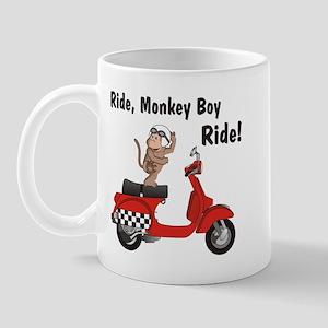 Classic ScooterMonkey Mug