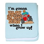 Play In The Dirt Infant Blanket