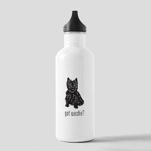 Westie Stainless Water Bottle 1.0L