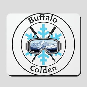Buffalo Ski Club - Colden - New York Mousepad