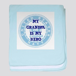 Grandpa Hero Infant Blanket