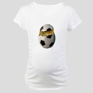 Soccer Chick Maternity T-Shirt