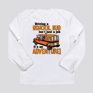 Driving a School Bus Long Sleeve Infant T-Shirt