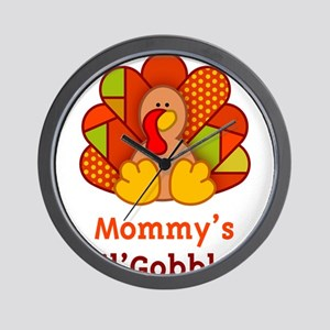 Mommy's Lil' Gobbler Wall Clock