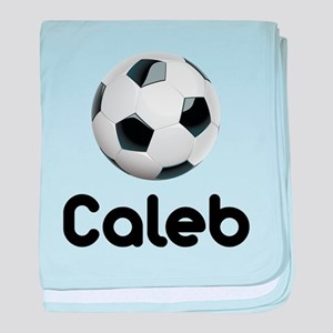 Soccer Caleb Infant Blanket