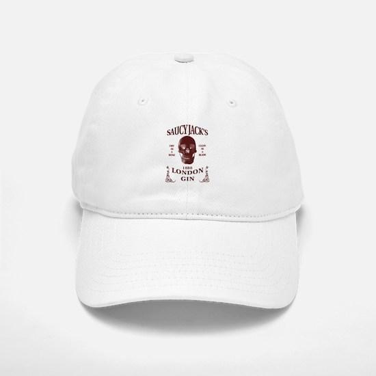Saucy Jack's London Gin Baseball Baseball Cap