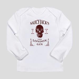 Saucy Jack's London Gin Long Sleeve Infant T-Shirt