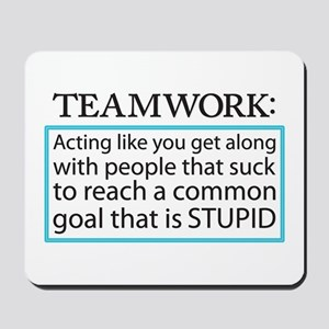 Teamwork Mousepad
