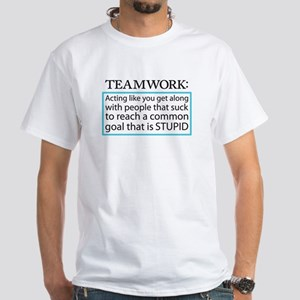 Teamwork White T-Shirt