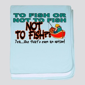 To Fish or Not To Fish??? Infant Blanket
