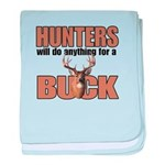 Hunters/Buck baby blanket