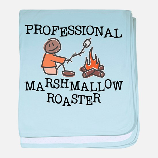 Professional Marshmallow Roaster baby blanket