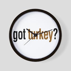 got turkey? Wall Clock