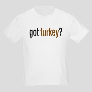 got turkey? Kids Light T-Shirt