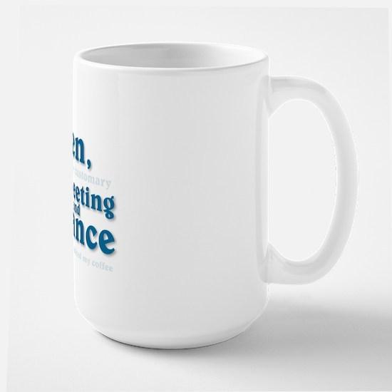 """Fairest and Fallen..."" Large Coffee Mug"