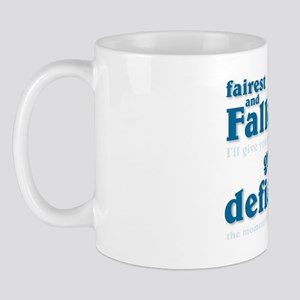 """Fairest and Fallen"" Tea Mug"