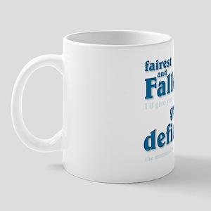 """""""Fairest and Fallen"""" Cocoa Mug"""
