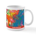 Crystalline Rainbow Reiki Healing Elixir Mug