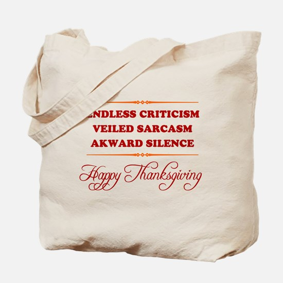 Endless Criticism, Veiled Sar Tote Bag