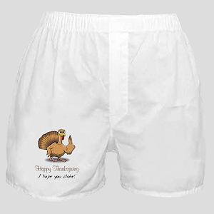 Bird Flipping Bird Boxer Shorts