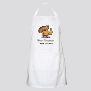 Bird Flipping Bird Apron