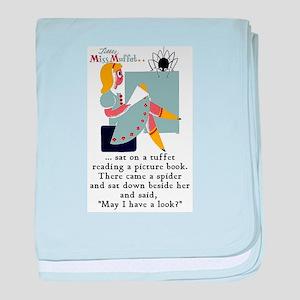 Little Miss Muffet Infant Blanket