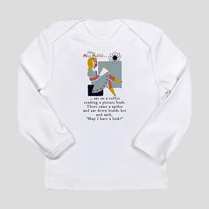 Little Miss Muffet Long Sleeve Infant T-Shirt