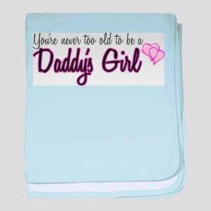 Daddy's Girl baby blanket