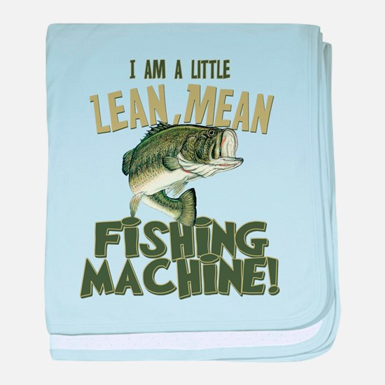 Lean Mean Fishing Machine Infant Blanket