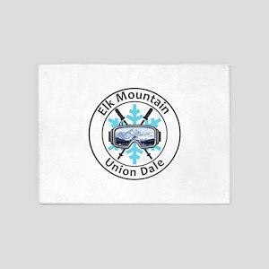 Elk Mountain - Union Dale - Penns 5'x7'Area Rug