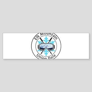 Elk Mountain - Union Dale - Penns Bumper Sticker