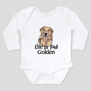 Life is Just Golden Long Sleeve Infant Bodysuit