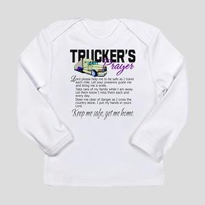 Trucker's Prayer Long Sleeve Infant T-Shirt