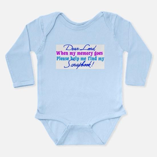 Dear Lord Long Sleeve Infant Bodysuit
