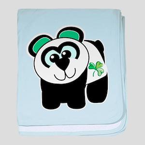Cute St. Patty's Day Irish Pa Infant Blanket