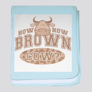 How Now Brown Cow? Infant Blanket