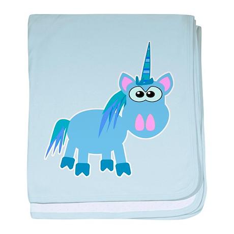 Goofkins Silly Little Unicorn Infant Blanket
