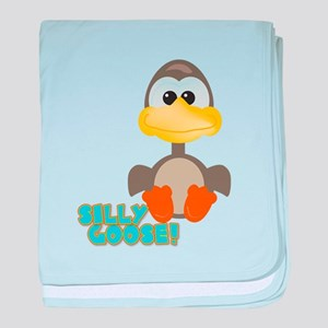 Goofkins Silly Silly Goose Infant Blanket