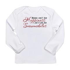Snowmobiling Long Sleeve Infant T-Shirt