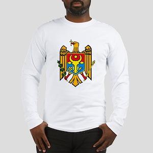 Moldova Coat of Arms Long Sleeve T-Shirt