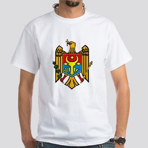 Moldova Coat of Arms White T-Shirt