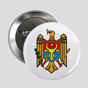 """Moldova Coat of Arms 2.25"""" Button (10 pack)"""