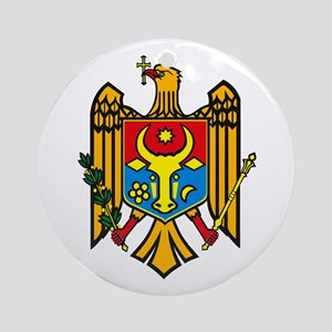 Moldova Coat of Arms Ornament (Round)